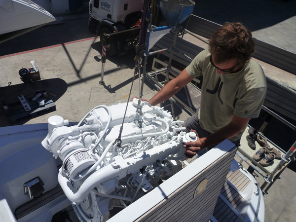 engine installation