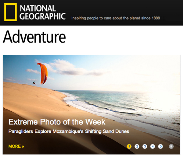 National Geographic Extreme Photo of Week