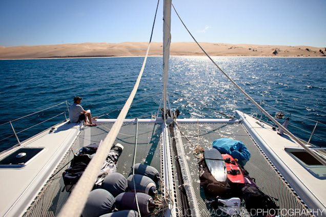 Sailing in Mozambique
