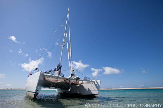 Sailing Mozambique