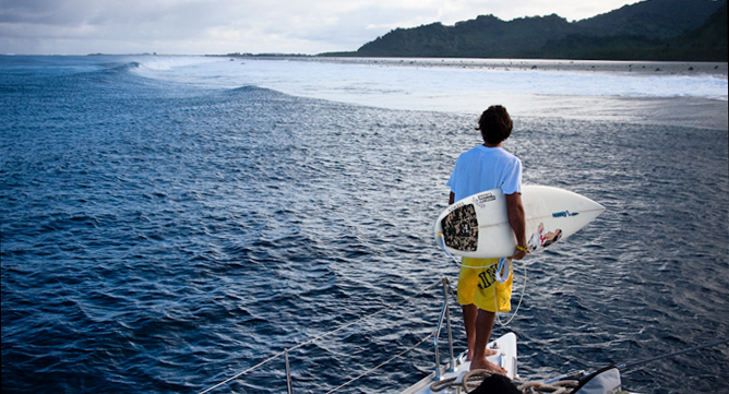 Mauricio Abreu in Kosrae