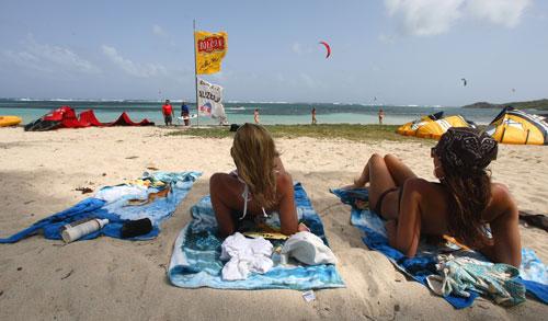 Beach support