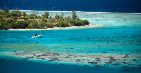Discovery in Huahine