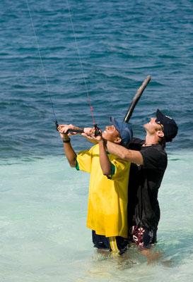 San Blas kiteboarding