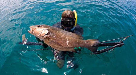 Spearfishing the San Blas