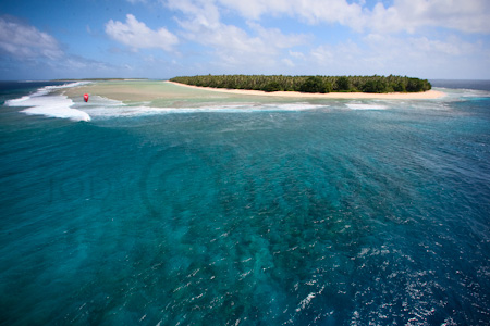 Marshall Islands wave kiting