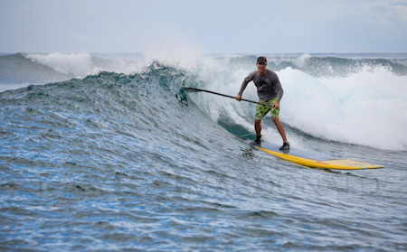 Chris Smith surfing