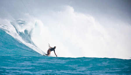 Micronesia wave riding