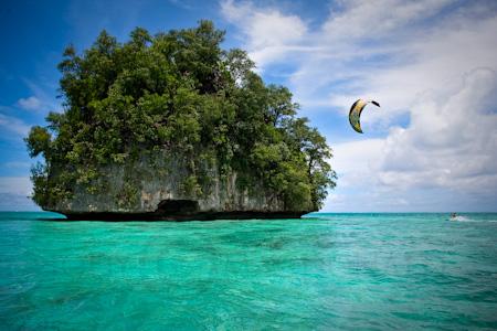 Kitesurfing Palau