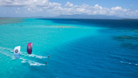 Pohnpei Best Kitesurfing