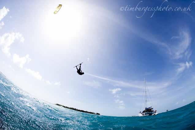 Cargados kitesurfing