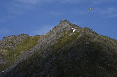 Paragliding Alaska