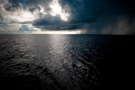 Squalls and rain