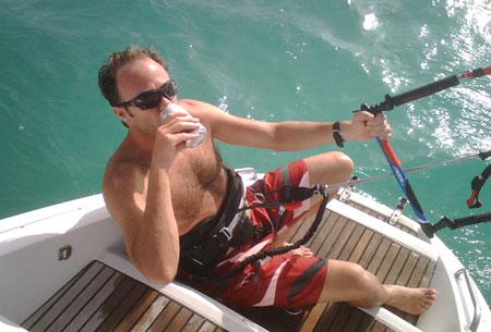 Ian taking a short break