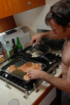cooking Mahi-Mahi