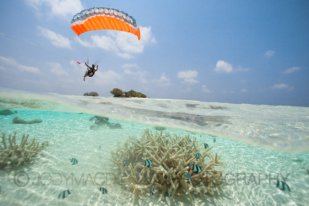 Maldives Islands Speedflying