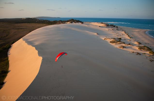 Paragliding Mozambique