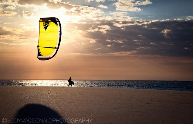 Mozambique kitesurfing