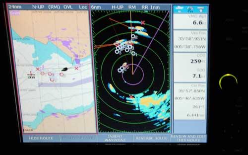 Radar traffic