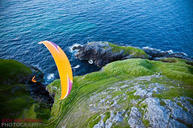 Paragliding Outer Hebrides